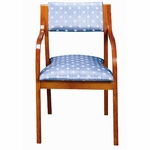 3400 Stacking Reception Chair w/ Upholstered Back & Seat - Grade 1 [3400-GRADE1-ACF]