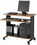 Muv™ 35'' Fixed Height Workstation - Cherry [1921CY-FS-SAF]