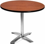 36'' Round Folding Multi-Purpose Table - Cherry [KFT36RD-CHY-MFO]