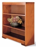 36 Traditional Series Open Bookcase [3636-FS-HALE]