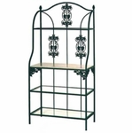 36'' W Vineyard Baker's Rack [36VZ-FS-GCM]