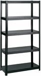 36'' W x 18'' D Boltless Extra Strength Shelving - Black [5245BL-FS-SAF]