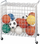 38''H Portable Ball Storage Cart [BCX-FS-CHS]