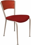 3818C Series 2'' Upholstered Cafe Chair with Wood Back [3818C-IFK]