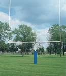 4.5'' Gooseneck Football Goalpost - Set of 2 [FB45HS-WT-BIS]