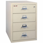 Four Drawer 38'' Wide Lateral File [4-3822-C-FS-FK]