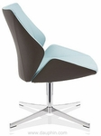 4+ Executive Lounge Chair on 4-Star Base - Grade C [FP7011-C-FS-DV]