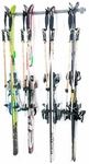 Powder Coated Steel Four Skis Storage Rack [03004-FS-MBG]