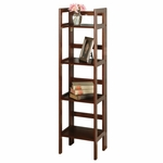 4-Tier Narrow Folding Shelf [94852-FS-WWT]