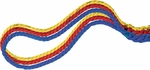 4-Way Tug of War Rope in Red,  Yellow,  Blue,  and Green [TWR4WAY-FS-CHS]