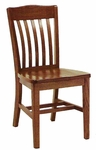 Wooden Dining Chair with 17.75'' Seat Height [0400-GCC]