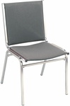 400 Series 1'' Seat Armless Upholstered Stack Chair [410-IFK]