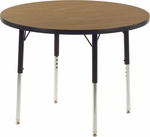 4000 Series 36''D Round Laminate Activity Table [4836R-VCO]
