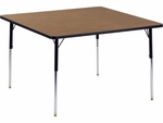 4000 Series 48'' Square Laminate Activity Table with Wheelchair Height Legs [484848W-VCO]