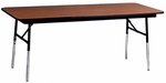 4000 Series Rectangular Folding Table with Height Adjustable Legs - 60''L X 30''W [4030-AMD]