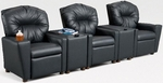 Kids 3-Seat Home Theatre Set with 2 Storage Consoles [401SC-3SEAT-FS-BZ]