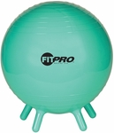 42 cm. FitPro Balls with Stability Legs in Green [BL42-FS-CHS]