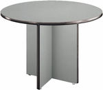 42'' Round Conference Table - Gray [T42RD-GRY-MFO]