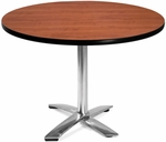 42'' Round Flip-Top Multi-Purpose Table - Cherry [KFT42RD-CHY-MFO]