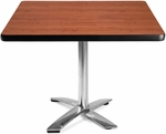 42'' Square Flip-Top Multi-Purpose Table - Cherry [KFT42SQ-CHY-MFO]