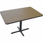 Cafe Table with Laminate Top - 30''D X 42''W [BCT3042-CRL]