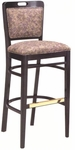 424 Bar Stool w/ Upholstered Back & Seat - Grade 1 [424-GRADE1-ACF]