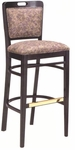 424 Bar Stool w/ Upholstered Back & Seat - Grade 2 [424-GRADE2-ACF]