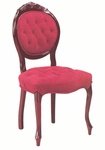 45506 Side Chair with Hand Tufted, Upholstered Back & Spring Seat - Grade 1 [45506-GRADE1-ACF]
