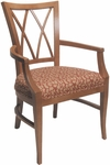 4620 Arm Chair w/ Upholstered Webb Seat - Grade 1 [4620-GRADE1-ACF]