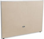 RiZe 47'' H x 60'' W Full Vinyl Floor Panel with Gray Frame - Beige Vinyl [P4760-GF-BV-MFO]