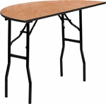 48'' Half-Round Wood Folding Banquet Table [YT-WHRFT48-HF-GG]