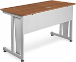 24'' D x 48'' W Modular Study Table - Cherry Finish [55103-CHY-MFO]