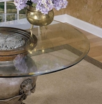 48'' Round Glass Bevel Edge Table Top [GC2-FS-PO]
