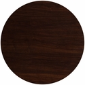 48'' Round Walnut Resin Table Top