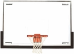72''W x 48''H Tall Glass Competition Basketball Backboard [BA48-BIS]