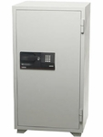 Extra Large Digital Keypad and Key Commercial Safe with 5.8 CU Ft. - Gray [S8771-FS-SEN]