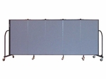 5 Panel Heavyduty Divider 9'5'' Wide [HFSL605-SCF]