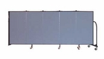 5 Panel Wall Mount Divider 9'2'' Wide [CWMX405-SCF]