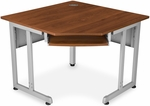 40.50'' W x 29.50'' D Five-Sided Corner Table - Cherry [55244-CHY-MFO]