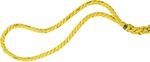 50' Tug of War Rope in Yellow [TWR50-FS-CHS]
