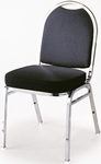 500 Series 2'' Seat Armless Upholstered Stack Chair [520-IFK]