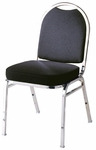 500 Series 3'' Seat Armless Upholstered Stack Chair [530-IFK]