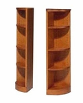 500 Series Outside Quarter Round 48 H Bookcase [548-QR-FS-HALE]