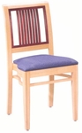 589 Stacking Chair w/ Upholstered Seat - Grade 1 [589-GRADE1-ACF]
