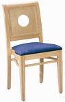 595 Stacking Chair w/ Upholstered Seat - Grade 1 [595-GRADE1-ACF]