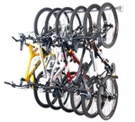 Powder Coated Steel Six Bike Storage Rack [01006-FS-MBG]
