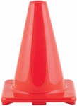 6'' High Visibility Flexible Vinyl Cone [C6OR-FS-CHS]