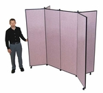6 Panel Display Tower 5'9'' Height [CDS606-SCF]