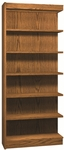 6-Shelf Bookcase Adder [3265-A-IRO]