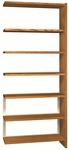 6-Shelf Bookcase Adder [LS84SA-IRO]